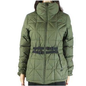 north face mera peak belted jacket